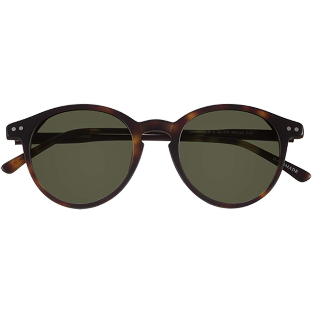Sunglasses retro Epos Castore 2 M-TN dark turtle g15 lens 48 22 145 new