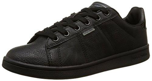 JACK & JONES Jjbane Pu Sneaker Bright White - Zapatillas Hombre Negro (gris antracita)
