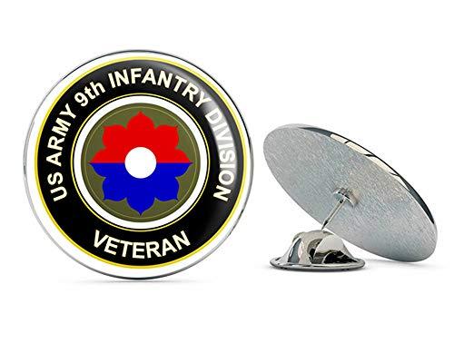 U.S. Army Veteran 9th Infantry Division Metal 0.75