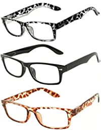 Retro Fashion Style Narrow Rectangular Frame Clear Lens...