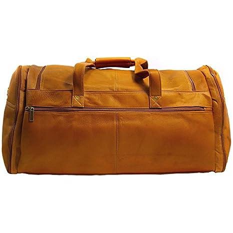 David King /& Co Tan Extra Large Multi Pocket Duffel One Size