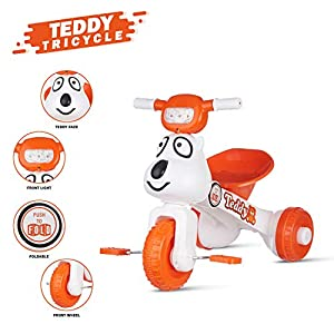 Dash Teddy Foldable Tricycle for...