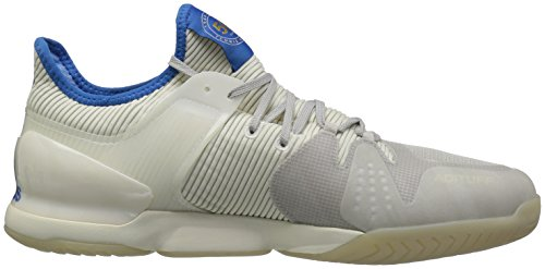 Adidas Originali Mens Adizero Ubersonic 50yrs Ltd Scarpa Da Tennis Legacy / Blu Segnale / Grigio Uno