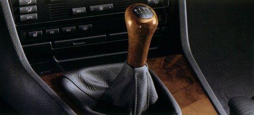BMW Genuine Walnut Wood Shift Knob for E36 3 Series (1992 to 1999), E39 5 Series (1997 to 2003), E38 7 Series (1994 to 2001), Z3 (1995 to 2002)