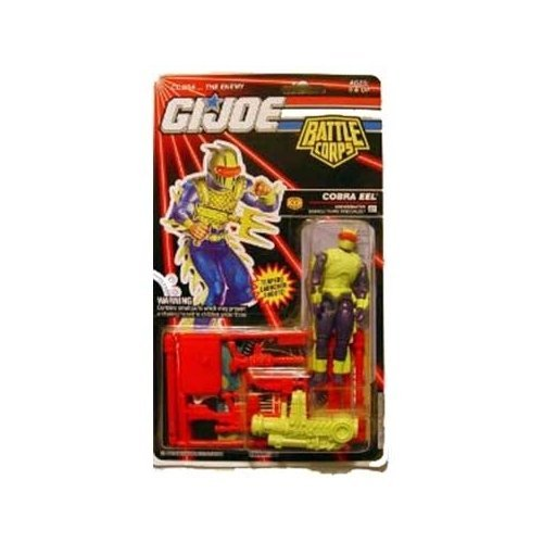 GI Joe Battle Corps Cobra Eel - Underwater Demolitions Specialist Action Figure (Cobra Eel)
