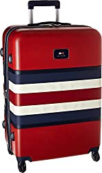"Tommy Hilfiger Hamilton 28"" Expandable Hardside Spinner, Red"