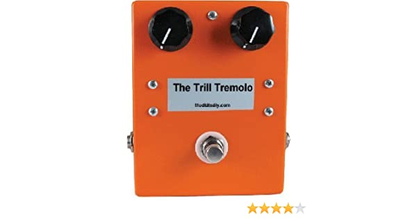 Amazon.com: ModKitsDIY The Trill Tremolo Effects Pedal Kit: Musical Instruments