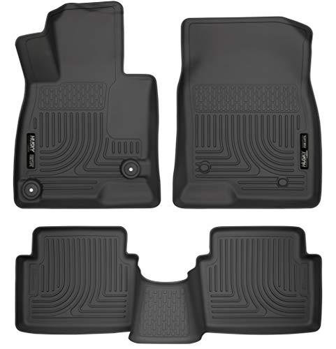 Husky Liners Front & 2nd Seat Floor Liners Fits 14-19 Mazda 3 Hatchback/Sedan.