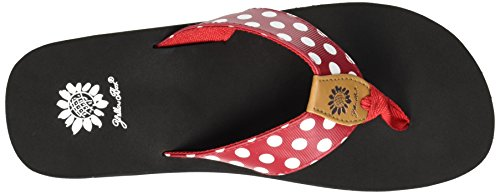 Flip Box Red Women's Zadie Yellow Flop BFWSgBc