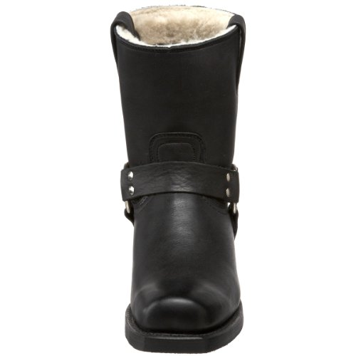 nbsp;US nbsp;Black Frye Boots Ladies Harness 11 8R Sizes 42 Shearling ggz0Uxwq