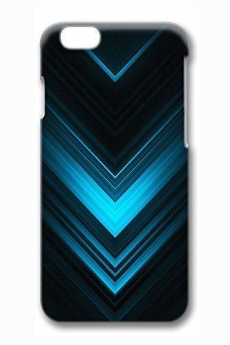 Cool azul delgado duro para ipod Touch 4 caso carcasa PC 3d ...