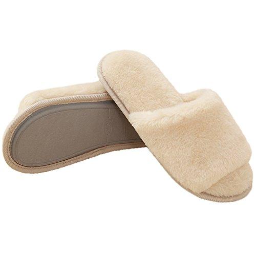 Beste Winter Zachte Comfortabele Pluchen Huismuispantoffels Voor Dames