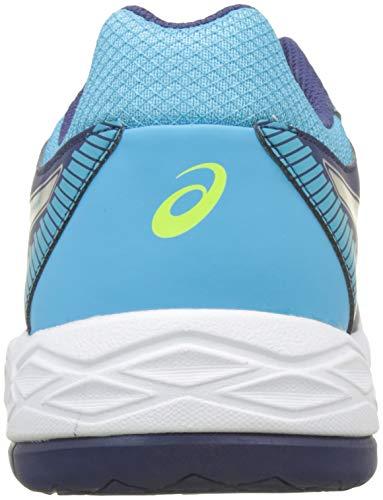 Gel Volleyball Blue Blue Task Silver Shoes Women's 400 Asics Indigo vpwBx