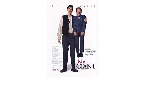 Mi gigante de B 11 x 17 - 28 cm x 44 cm Billy Crystal ...