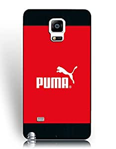 Samsung Galaxy Note 4 Fundas, Traditional TPU Fundas, Popular Puma Brand logo Printed Fundass for Fans/Athletic
