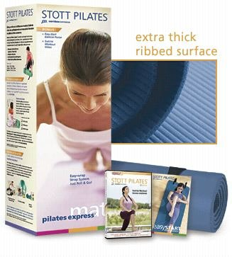 STOTT PILATES Pilates Express Mat Power Pack (Blue)
