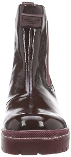 Fornarina IGGY - botas de goma sin forro con caña corta de material sintético mujer rojo - Rot (BURGUNDY / 7100)