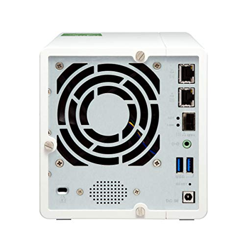 QNAP TS-332X 3-Bay 64-bit NAS with Built-in 10G Network. Quad Core 1.7GHz, 2GB RAM, 1 X 10GbE (SFP+), 2 X 1GbE, 3 X 3.5/2.5'' Drive Slots, 3 X M.2 SATA 2280 Slots, RAID 0/1/5 by QNAP (Image #3)