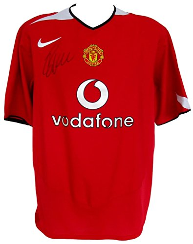 Euro 2008 Shirts (Cristiano Ronaldo Signed Manchester United 2004/05 Home Soccer Jersey Icons COA)