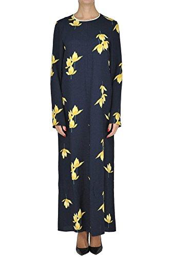 Marni Women's Mcglvs003246e Blue Viscose Dress Marni Women Dresses