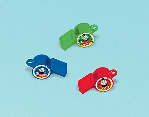 Thomas All Aboard Packaged Whistles, Party Favor