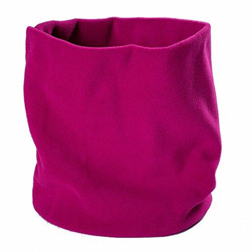 Lupa Canadian-Made 2-Ply Micro Fleece Neck Warmer/Gaiter (Fuchsia) ()