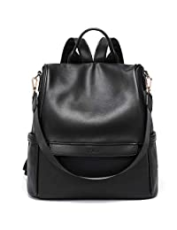 CLUCI Back to School Women Backpack Purse Fashion Leather Large Travel Bag Ladies Shoulder Bags