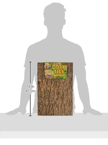 Image of Zoo Med Natural Cork Tile Background, 12 x 18-Inches