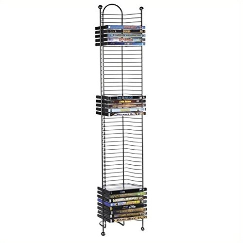 Atlantic Inc Nestable 52 DVD or Blu-Ray Tower In - Ray Blu Tower Storage