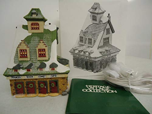 The Heritage Village Collection North Pole Series