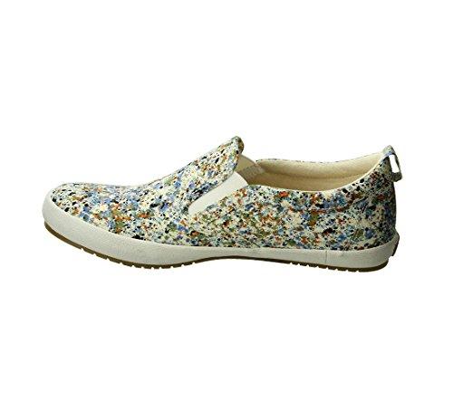 enjoy cheap online Taos Footwear Women's Dandy Slip On Blue Splash outlet Cheapest Red pre order eastbay 2Le8ehbJGU