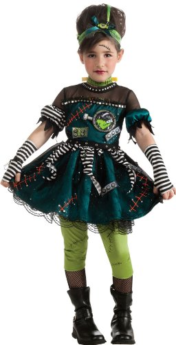 Frankenstein Costumes Child Bride Of (Frankie's Princess Costume,)