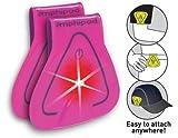 Amphipod Vizlet LED Triangles 2-Pack: Neon Pink