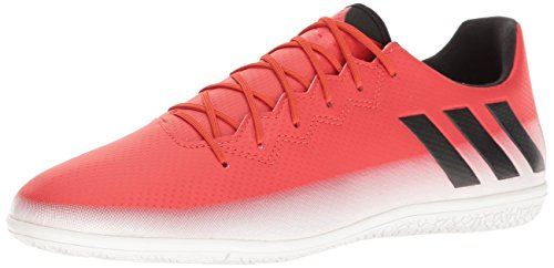 adidas Men's Shoes   Messi 16.3 in Soccer, Red/Black/Whit...