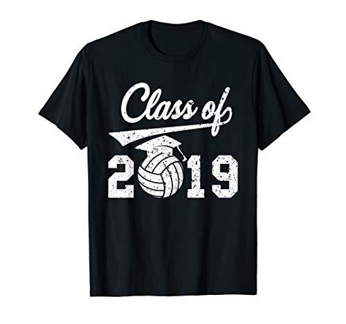 Volleyball Class-Of-2019 T-shirt Senior-19 Graduation