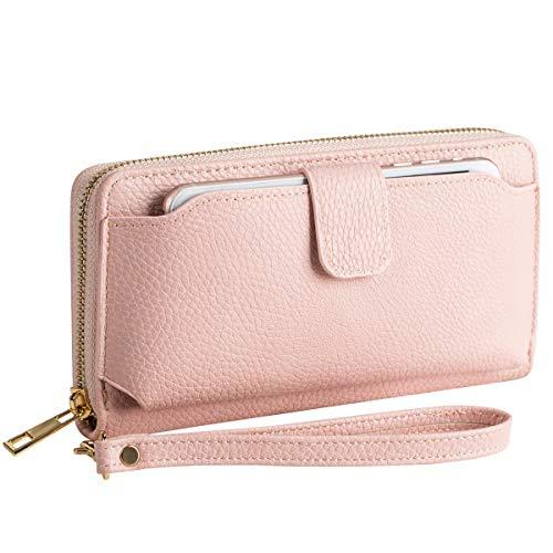 - Wristlet Wallet Purses Women Cellphone Pocket Clutch