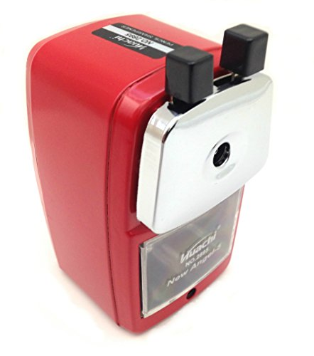 Best Manual Heavy Duty Pencil Sharpener for Classrooms Office Teachers and Schools