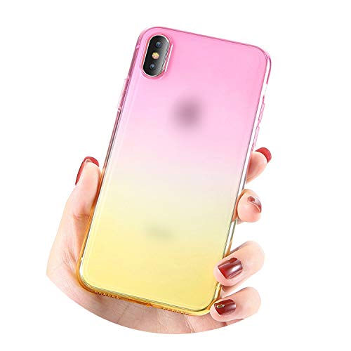 for iPhone 6 6S iPhone 7 8 Plus Ultra Thin Cases for iPhone X XS Max XR Clear TPU Phone Cases for iPhone 5S 5 SE Fundas,Pink Gold (List Of Car Accessories Companies In India)