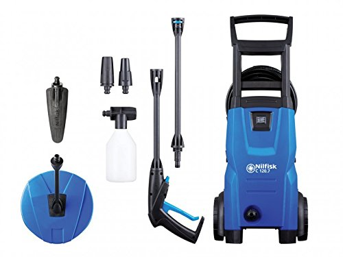 Nilfisk C120 7-6 Patio and Brush Pressure Washer - Blue