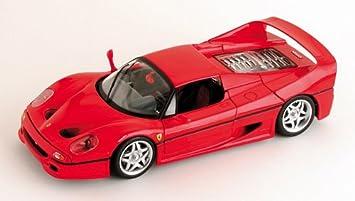 Mattel Hot Wheels 50430 0 Ferrari F50 Rot 1 18 Amazon De Spielzeug