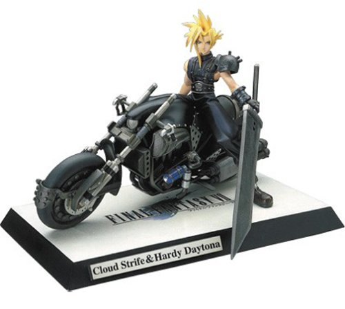 - Final Fantasy VII Cloud Strife & Hardy Daytona Resin Statue 1/8 Scale
