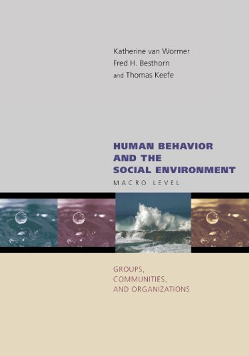 Human Behavior and the Social Environment: Macro Level: Groups, Communities, and Organizations