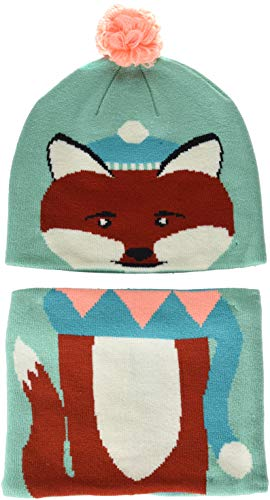 Columbia Kids & Baby Snow More Beanie and Gaiter Set Toddler, Pixie Fox, One Size
