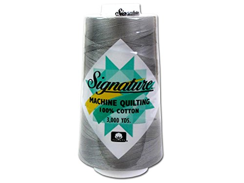 Signature Thread Signature Ctn 3000yd 100% Cotton Quilt Thread 3000 Pearl