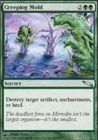 Creeping Mold (Magic: the Gathering - Creeping Mold - Mirrodin - Foil)