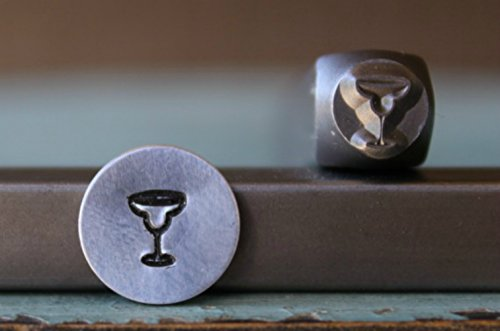 6mm Margarita Glass Metal Punch Design Jewelry - Margaritas Punch