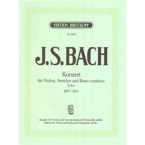 (Concerto No. 2 in E Major, BWV 1042 for Violin and Piano)