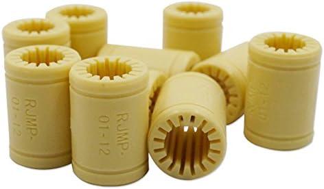 Rokoo 4 piezas/set impresora 3D polímero sólido LM6UU teniendo ...