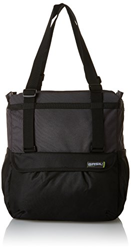 (Bell Basil Shopper X-Large Bicycle Pannier, Black/Anthracite)