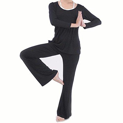 Blaulover Plus Größe Frauen Yoga Anzüge Sport Fitness Yoga Kleidung Set Modale Bündeln Nähen Sportswear - Lila - L B07F1VR3FG Badeshorts Überlegene Qualität